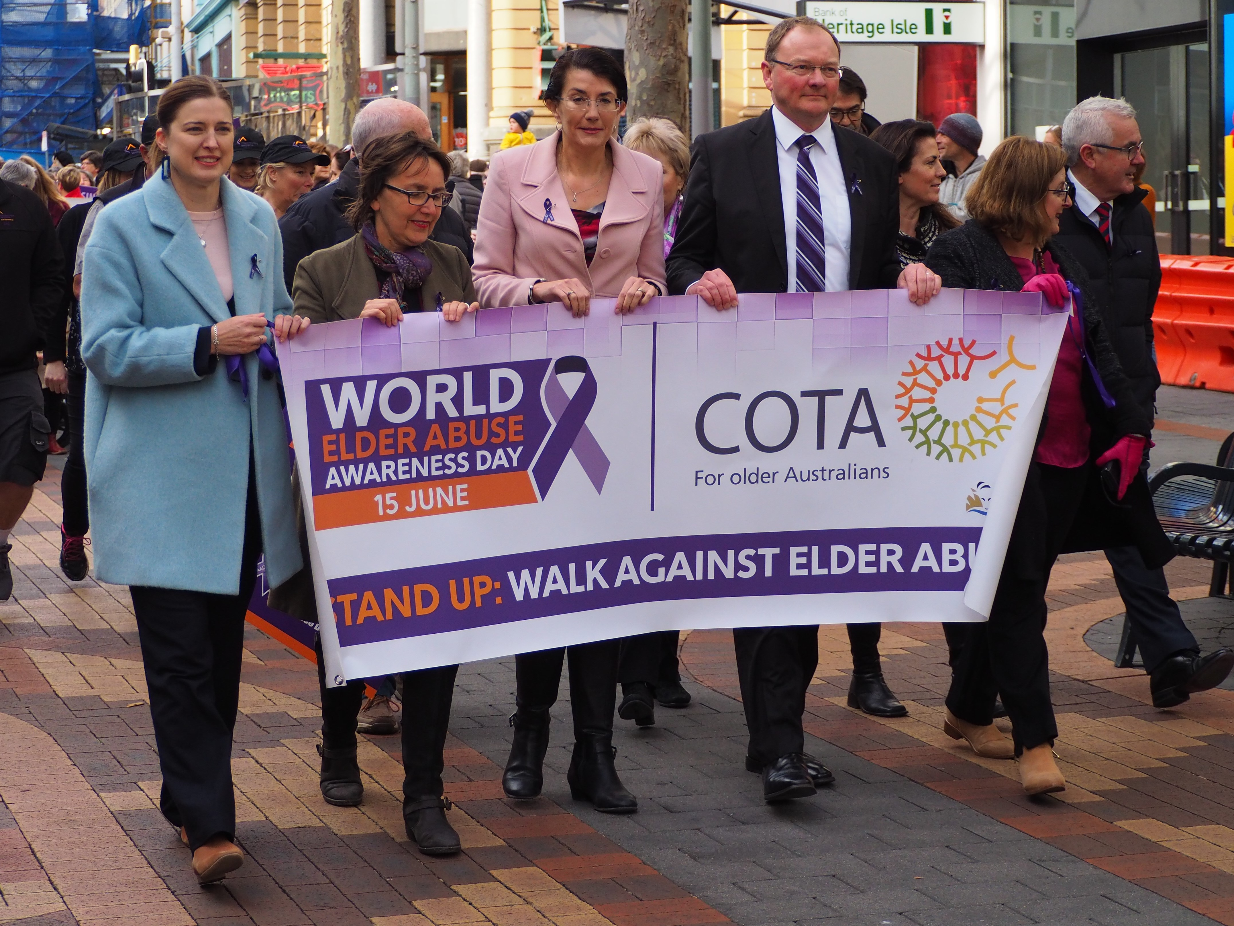Walks Against Elder Abuse