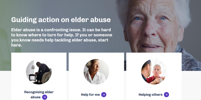 New Elder Abuse Prevention Website Launched preview image