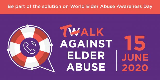 Talk Against Elder Abuse on 15 June
