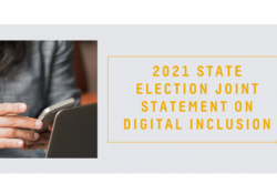 2021 State Election Joint Statement on Digital Inclusion preview image